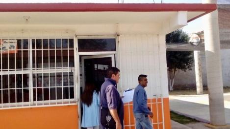 PROTECCION CIVIL DE IXTACUIXTLA RELIZA UN RECORRIDO DE SUPERVISION EN ESCUELAS TRAS SISMO