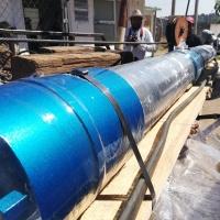En Tecopilco, adquieren nuevo equipo de bombeo para pozo de agua