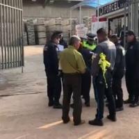 Muere atropellado por conductor de transporte de personal en Papalotla