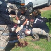 Muere abuelita y policía en Tetla al tratar de impedir sustracción de menor