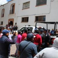Policía de Nanacamilpa colabora en detención de presuntos asaltantes en Españita