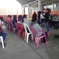 Docentes de primaria en Nativitas maltratan, disminan y 'bullean' a niños, piden su salida