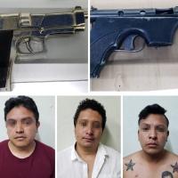 Con arma real y otra de juguete asaltaban en Chiautempan