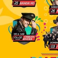 Carlos Rivera abre nueva fecha en el palenque de la Feria Tlaxcala 2019