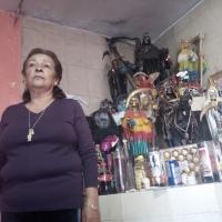 El primer templo de la Santa Muerte en Tlaxcala, cumplirá 16 años