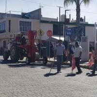 Antorcha Campesina agrede a tres funcionarios y sustrae un molino en  Papalotla