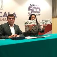 Mañana inicia emplacamiento en Tlaxcala, será gratis para conductores cumplidos