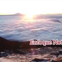 Familia tlaxcalteca llega a la cima de la Malinche y capta espectaculares imágenes