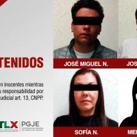 Padre, hijo, hija y esposa a investigación por ASESINATO de un hombre en Apizaco