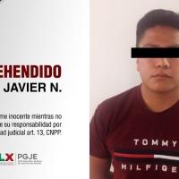 Capturan a presunto TRATANTE de mujer rescatada en San Pablo del Monte