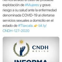 CNDH investiga probable explotación SEXUAL de mujeres A DOMICILIO en Tlaxcala