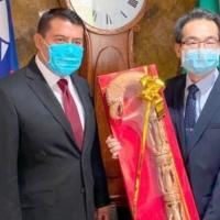 Gestiona Rubén Terán ayuda para México por Covid-19 y capacitación para médicos en Taiwán