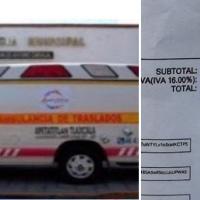 Reprochan a edil de Apetatitlán elevado costo de ambulancia, casi 500 mil pesos