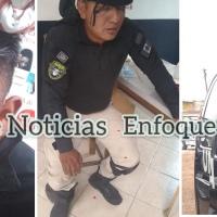 Enfrentamiento entre policías y pobladores deja tres oficiales lesionados y un detenido
