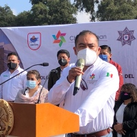 Con recursos propios, Héctor Domínguez construirá nuevo edificio de Seguridad Pública en Chiautempan