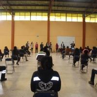 Presentan Brigadas Municipales ante Covid19 en Santa Cruz Tlaxcala