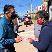 Gobierno de Papalotla despliega brigadas de información Covid19 en influenza