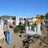 Panteones de Nanacamilpa se mantendrán cerrados durante Día de Muertos