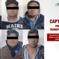 Capturan a banda delictiva dedicada al robo de unidades de transporte público
