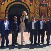 Miss Guatemala se hace viral por su belleza y altura