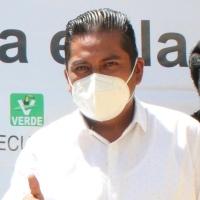 Presenta PVEM a Antonio Barrera como aspirante a la alcaldía de Santa Cruz Tlaxcala